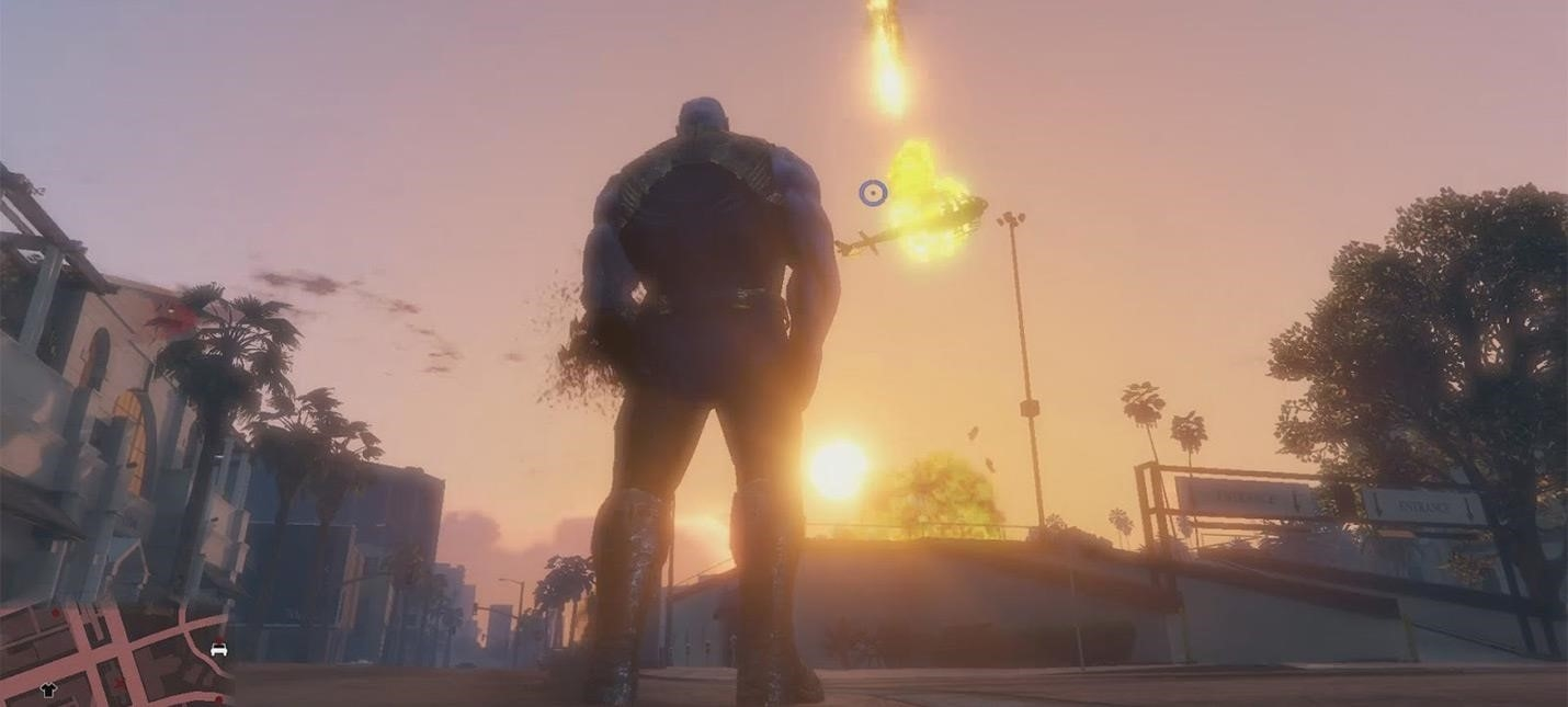 Thanos for GTA V can be download free of chargeGame playing info