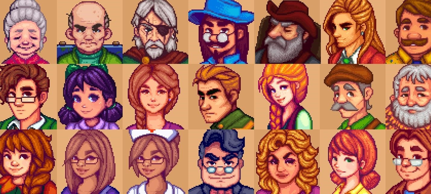 Mod Stardew Valley significantly improves portraits of