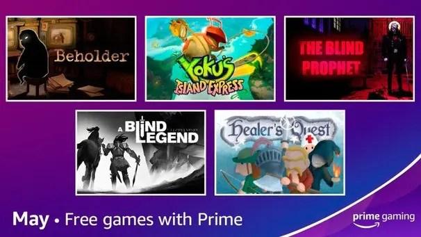 Jogos grátis Prime Gaming