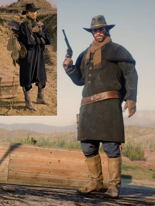 Best Arthur Morgan Outfits : arthur, morgan, outfits, Redemption, Player, Recreates, Outfits, Stranger, Things, Gamepressure.com