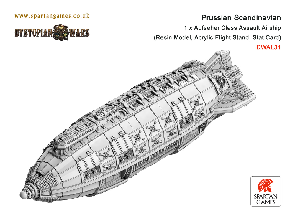 November Dystopian Wars Releases from Spartan Games