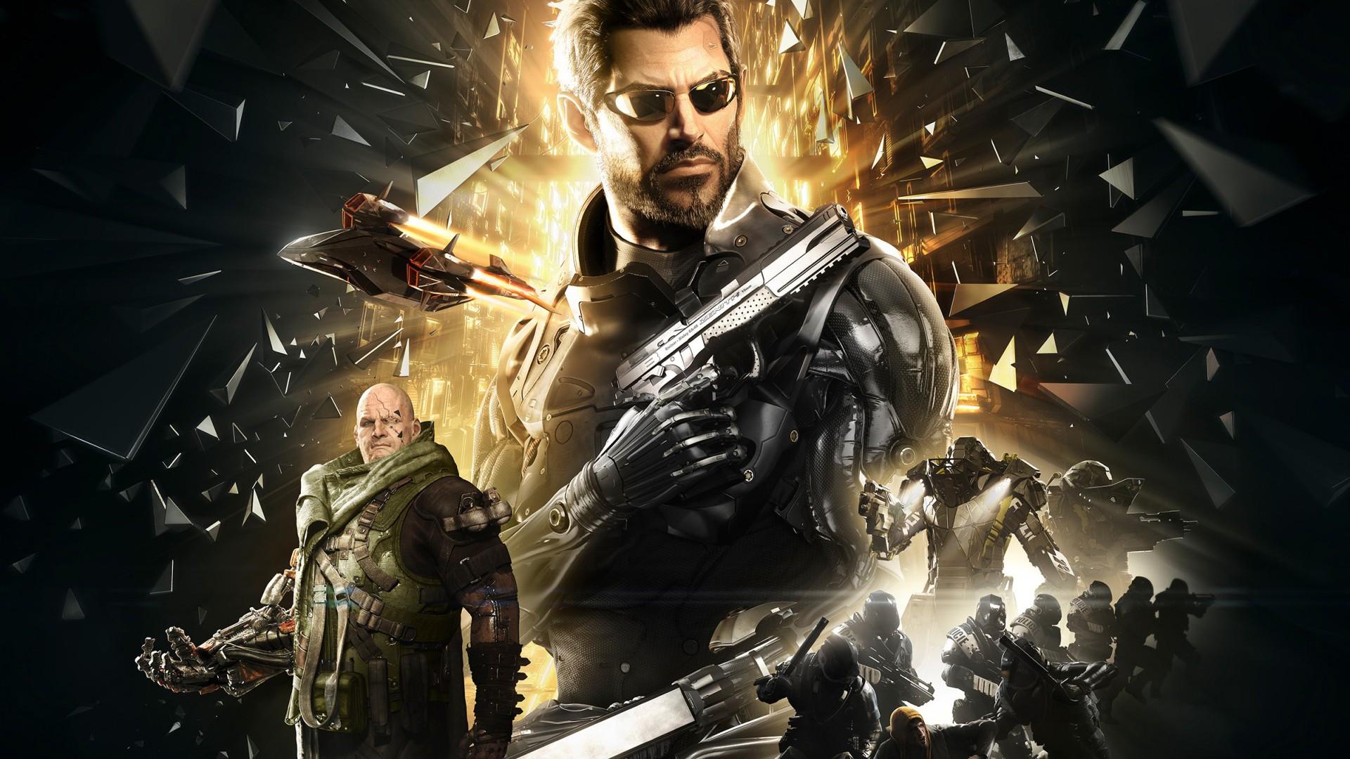 Deus Ex Mankind Divided Wallpapers in Ultra HD  4K  Gameranx