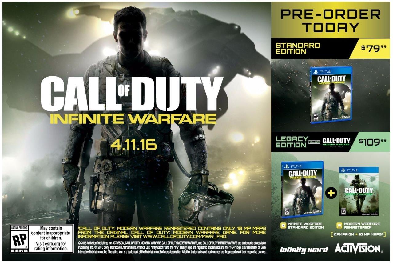 More Details Leak for Call of Duty: Infinite Warfare