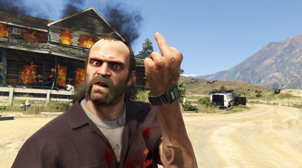 GTA 5 Trevor Side Mission Texts Gameranx