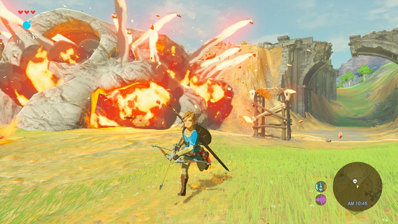 The Legend of Zelda: Breath of the Wild Will Take 40% Of Switch Internal Storage