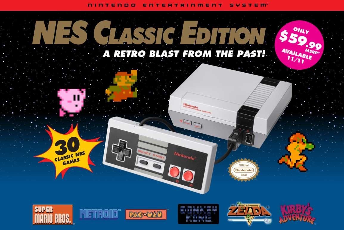 NES Classic Sells 1.5 Million Units, Nintendo Apologizes and Explains Shortages