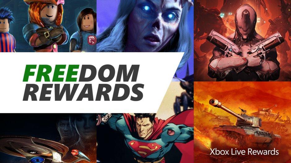 Xbox Announces New Freedom Rewards Program; Win Prizes and Free Credit