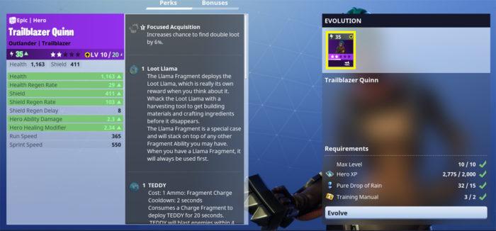 Fortnite How To Evolve Heroes Gameranx