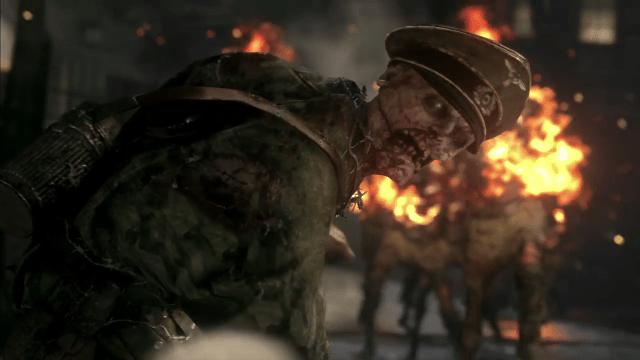 Call of Duty WWII - Los zombis nazis revelan Trailer.mp4_000054403