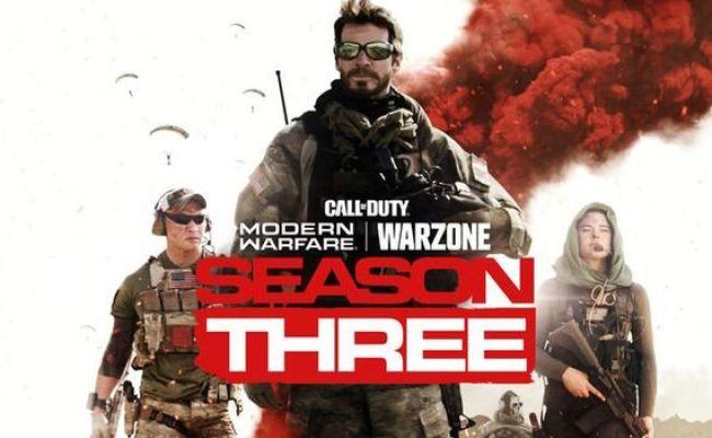 Call Of Duty Modern Warfare Season 3 Starts April 8th