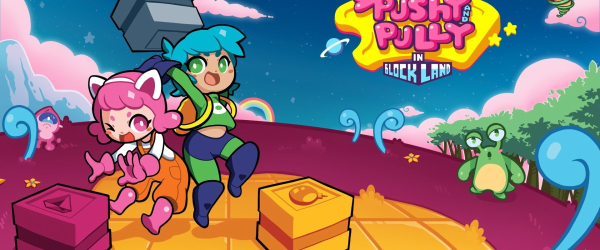 Retro Block Adventure Pushy and Pully in Blockland Available Now on Xbox One