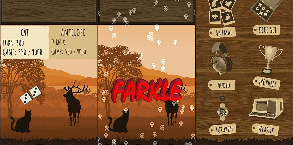 Pocket Gamer: Farkle Safari lets you play the classic dice game and save wildlife at the same time   Articles