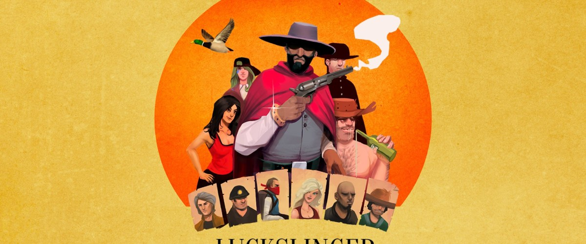 Become a Bounty Hunter in a Hip Hop Infused Wild West with Luckslinger