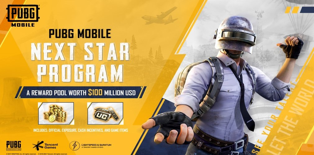 PUBG MOBILE launches the NEXT STAR PROGRAM for content creators, with a reward pool of $100 million | Articles
