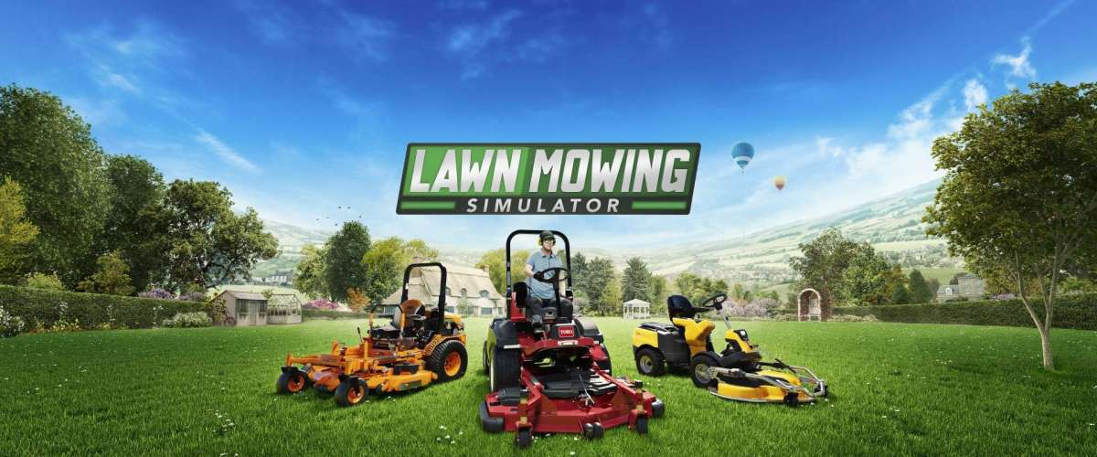 Positively Mowing! Lawn Mowing Simulator is Available Now for Xbox Series X|S