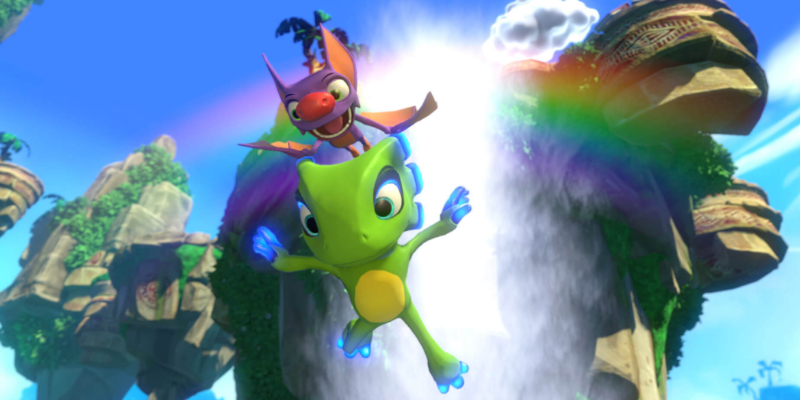 Yooka-Laylee and Void Bastards will be free on the Epic Games store
