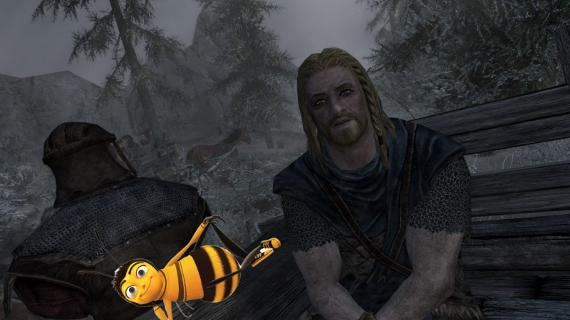 A Bee Almost Ruined The Beginning Of Skyrim