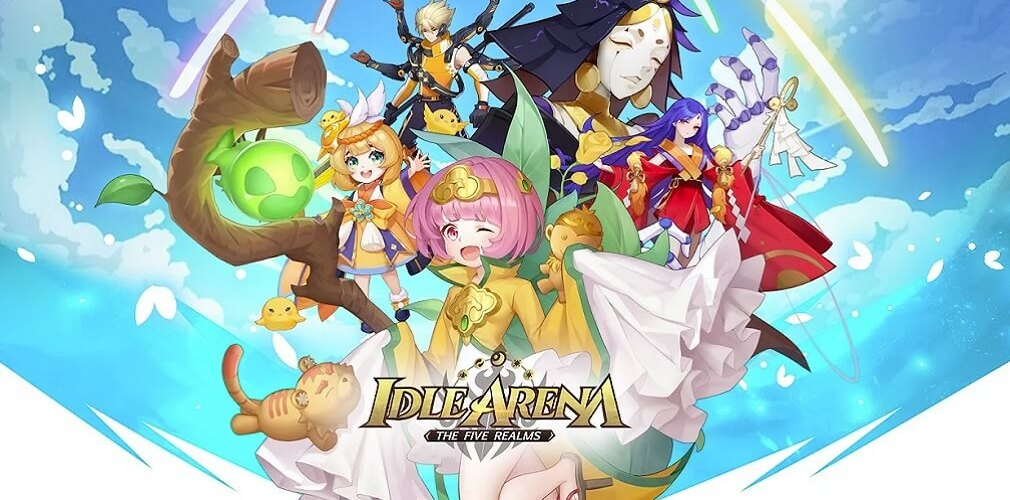Idle Arena: The Five Realms, Kuukigame's first mobile RPG, is now out for Android and iOS | Articles