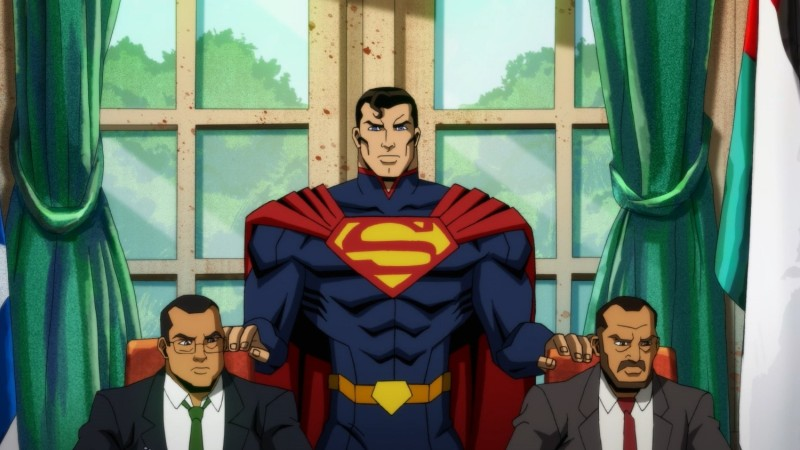 Watch This Exclusive Clip Of Superman Wrecking Things In Injustice