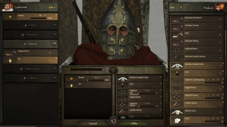 Mount & Blade Ii Bannerlord Mount And Blade Ii Bannerlord Influence Vassals How To Increase Influence 4