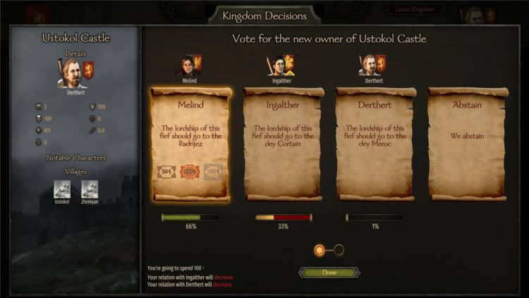 Mount & Blade Ii Bannerlord Mount And Blade Ii Bannerlord Influence Vassals How To Increase Influence 6