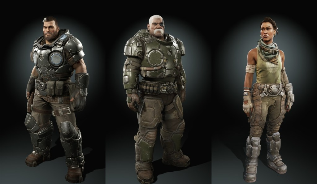 Gears Tactics devs give a glimpse of the game's heroes