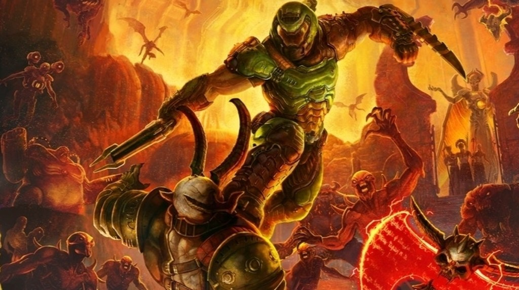 Doom Eternal review - the same orgiastic thrills with a creeping weight of story • Eurogamer.net
