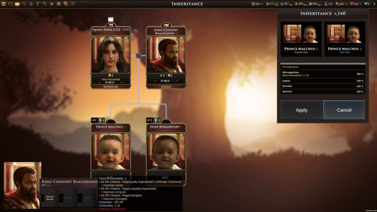 Old World Early Access Preview Impressions 4x Civilizations Crusader Kings Carthage Family