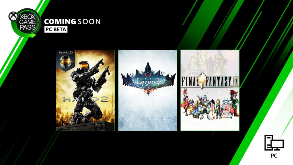 Xbox Game Pass - PC Coming Soon