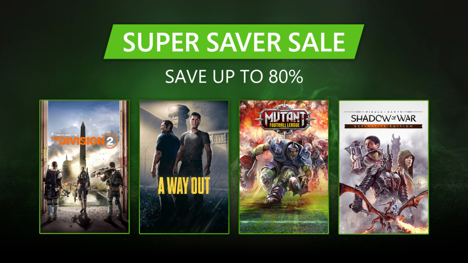 Super Saver Sale - Hero Image