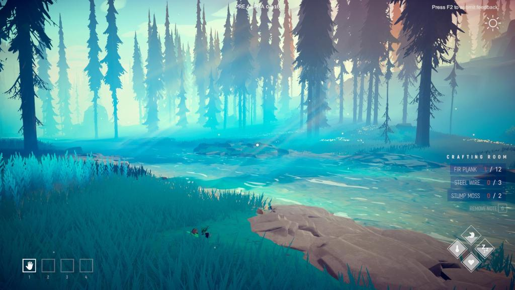 Among Trees early access impressions - A fire among the firs