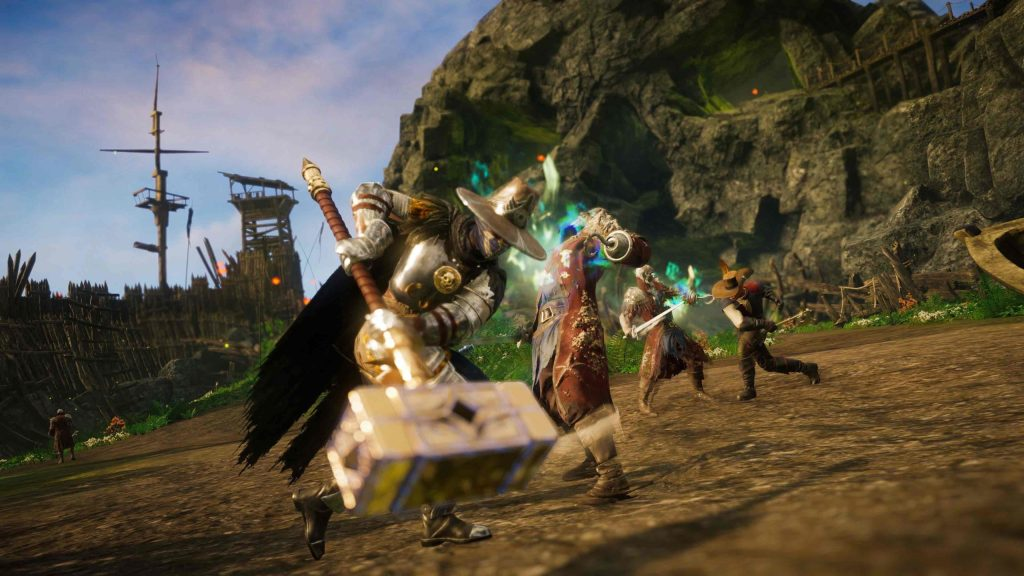 New World gets another gameplay trailer and a beta date