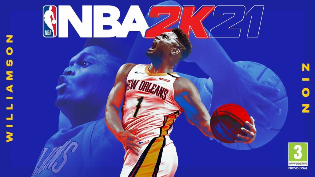 Zion Williamson Fronts NBA 2K21 on PS5, Damian Lillard on PS4