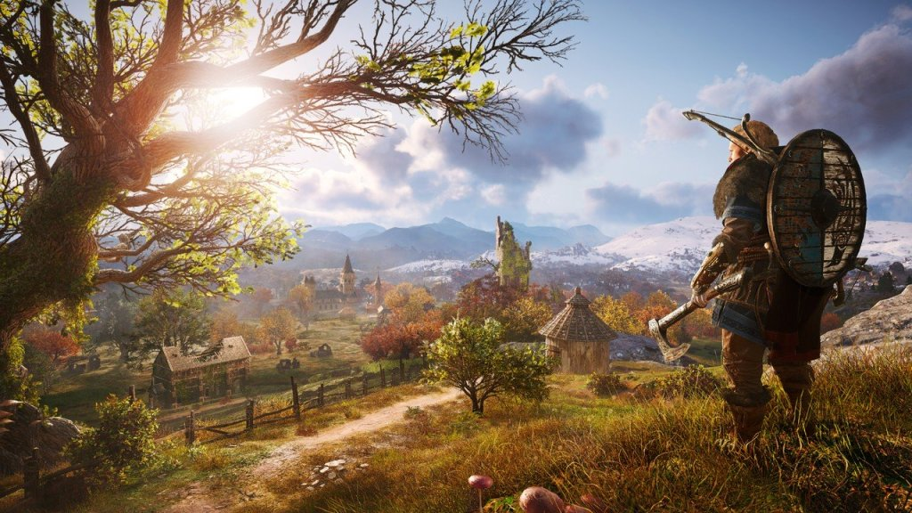 30 Minutes of Assassin's Creed Valhalla Gameplay Leaked Online