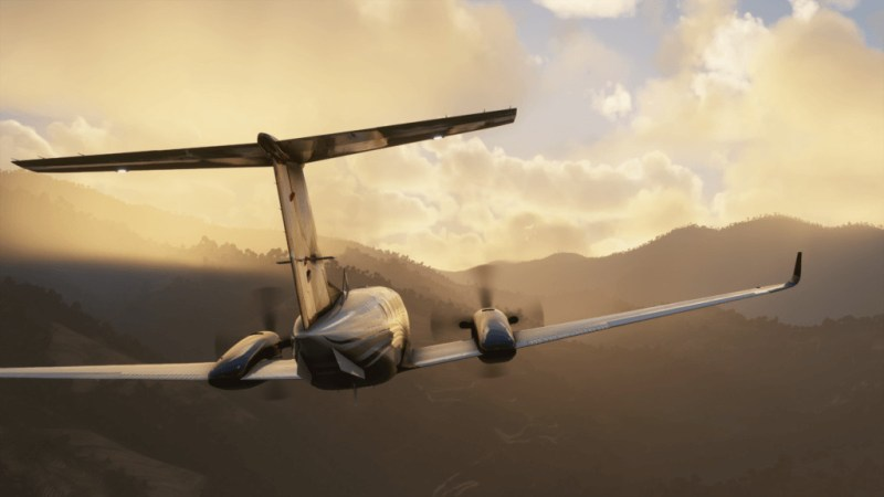 Microsoft Flight Simulator King Air