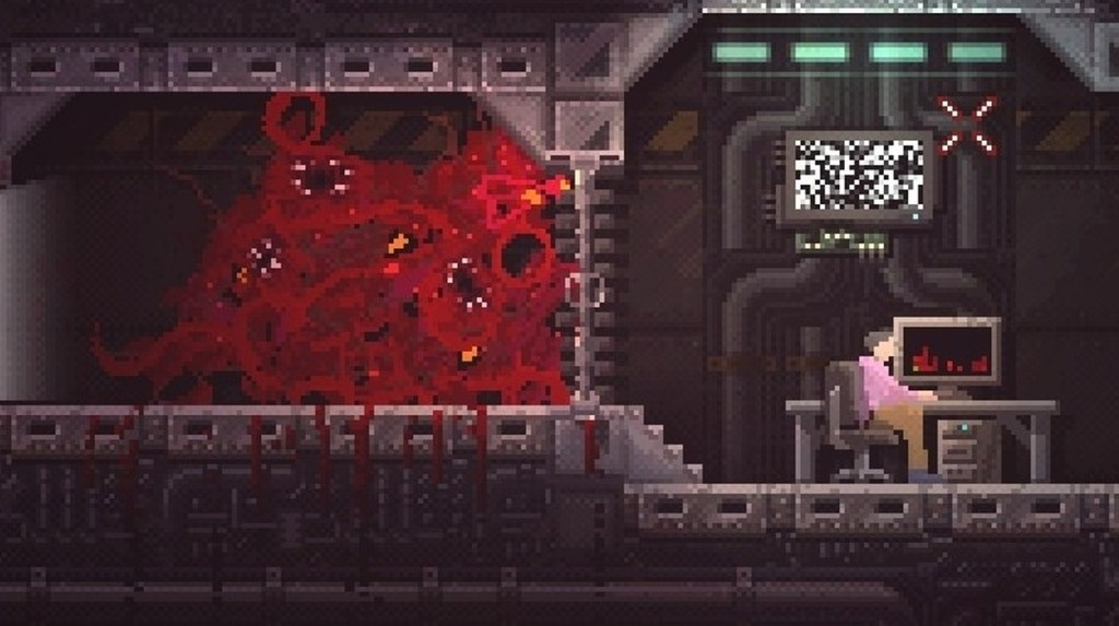 Carrion review - an unforgettable monster chews its way out of a solid Metroidvania • Eurogamer.net
