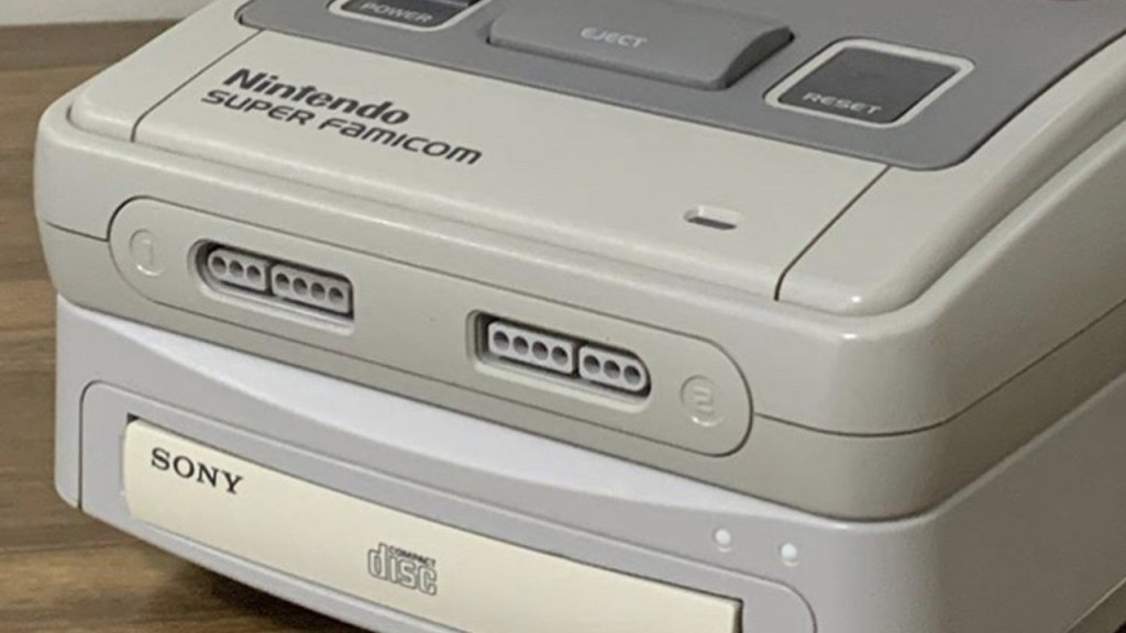 Random: Rather Than Pay A Fortune For The Legendary SNES PlayStation, One Man Built His Own