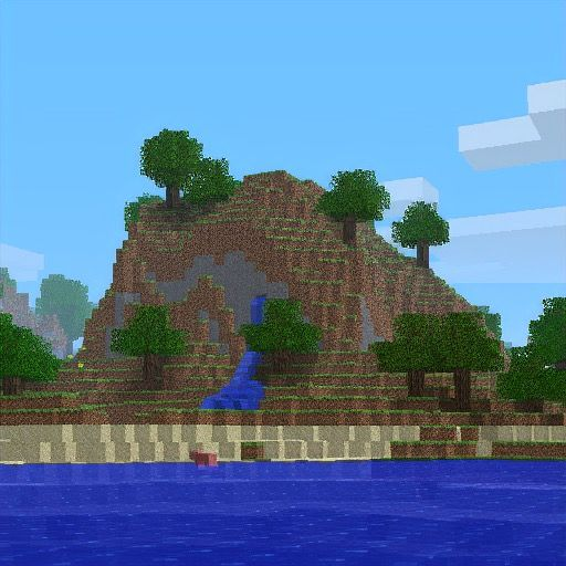 """The iconic Minecraft world of the """"Pack.png"""" image has been found"""