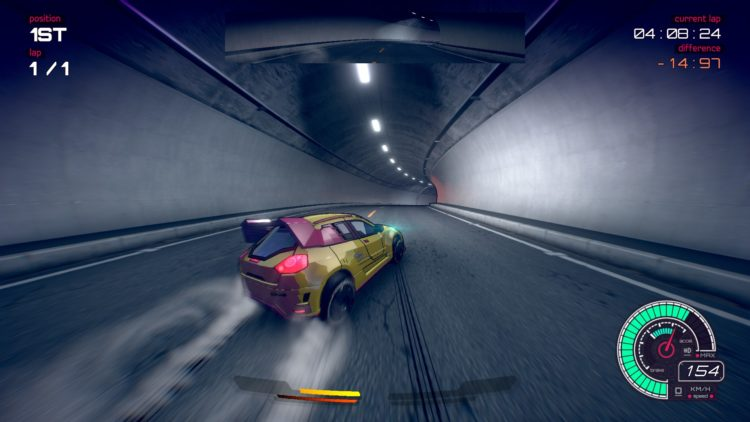 Inertial Drift review Tunnel
