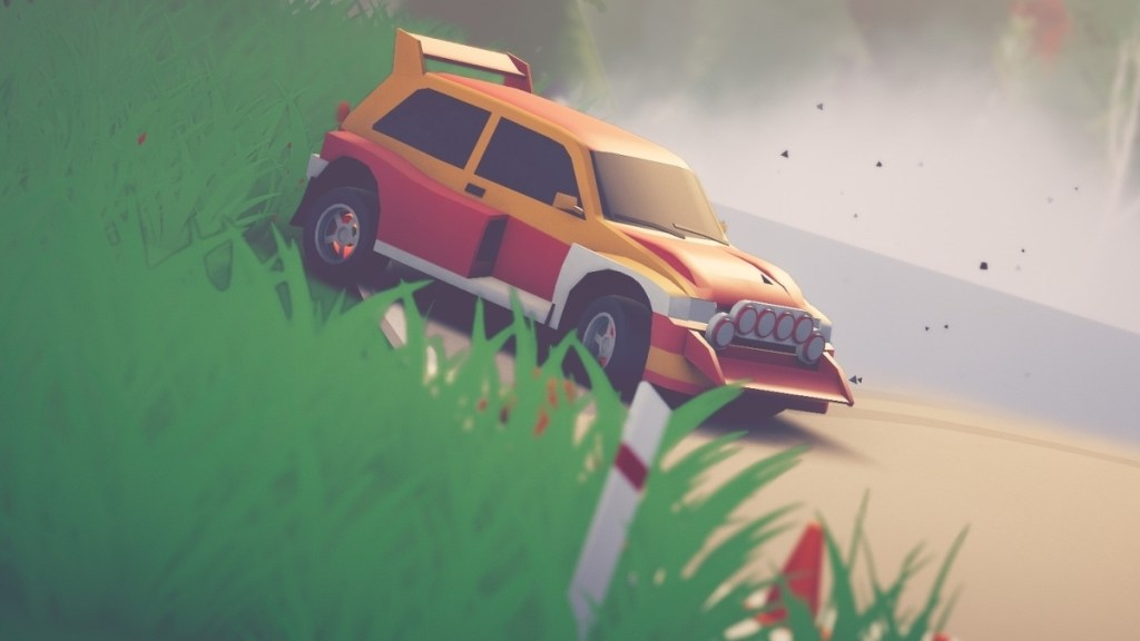 art of rally review - a slight yet stylish take on off-road driving • Eurogamer.net