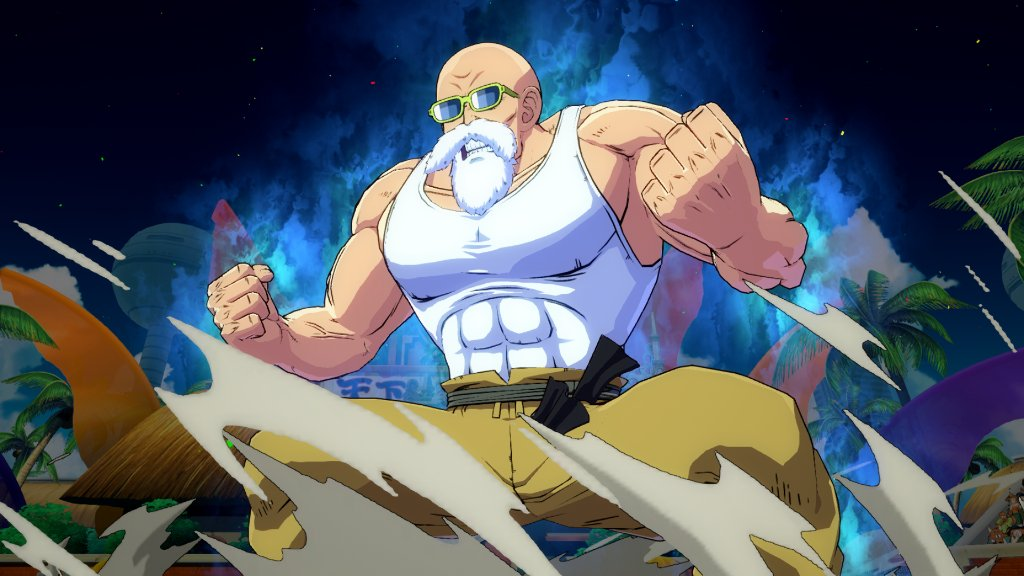 Master Roshi gameplay guide for Dragon Ball FighterZ