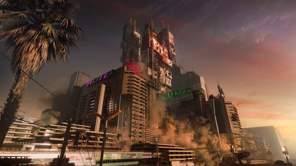 Cyberpunk 2077 Night City map leak shows complete overview of districts
