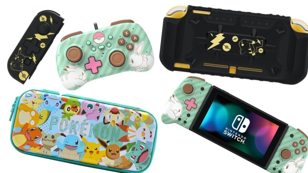 Hori Reveals Huge Wave Of Pokémon Controllers And Accessories For Nintendo Switch