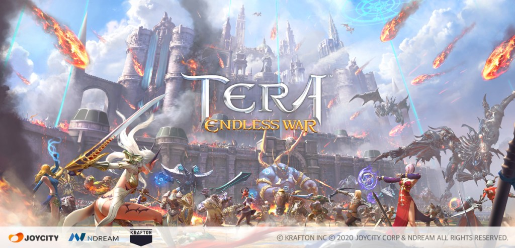 TERA: Endless War's pre-registration breaks out on iOS and Android
