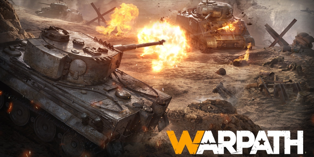 Warpath is an upcoming WW2 strategy game that