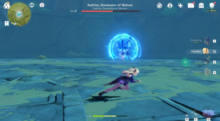 Genshin Impact Wolf Of The North Challenge Andrius Boss Fight Guide 3