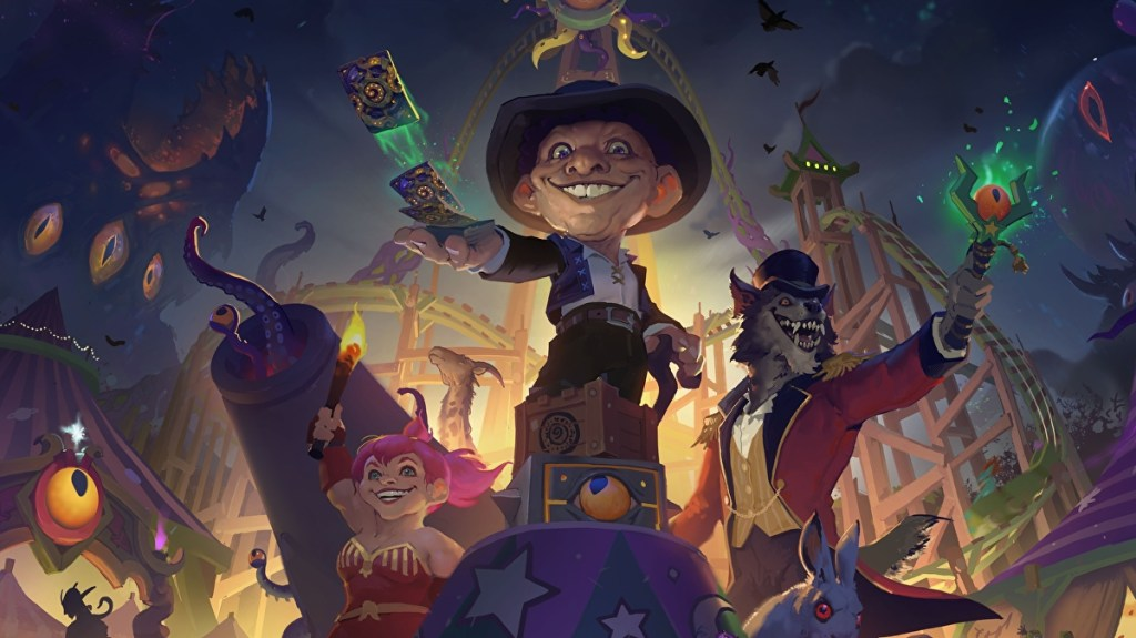 Hearthstone's Madness at the Darkmoon Faire expansion is out in November • Eurogamer.net