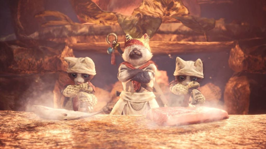 Milla Jovovich and the Meowscular Chef will be buddies in the Monster Hunter movie