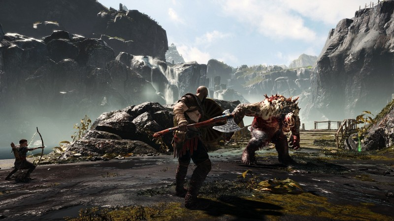 You Can Take Your God Of War Save From PS4 To PS5