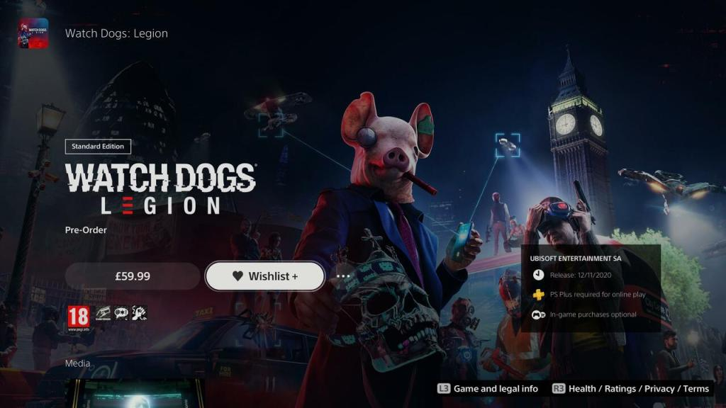 PS5 Adds Wishlists to PS Store